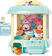 GMAXT Claw Machine,C1 Claw Toy,2.4G Remote Control Automatic or Manual Dual Mode Mini Claw Machine, Intelligent System with Music and Lighting, Giving Children The Best Gift