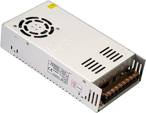 Redrex 24V 15A DC Alimentation à Découpage Régulée Universelle 360w avec Ventilateur de Refroidissement à Température...