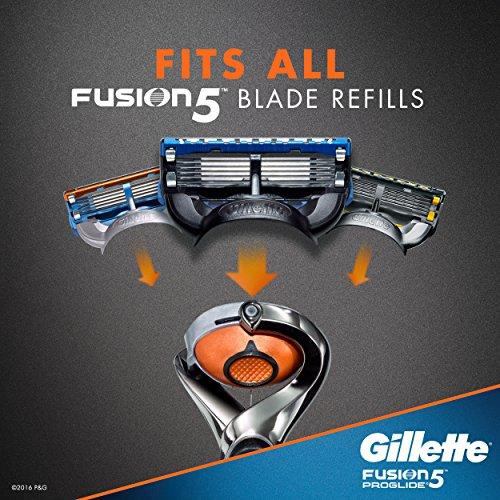 Rasoir pour Hommes Gillette Fusion5 ProGlide Power, 2 Cartouches de Rechange - 9