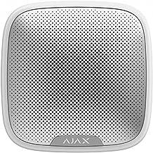 Ajax AJSS Streetsiren draadloze buitensirene volume instelbaar van 85 tot 113 dB Kleur: wit