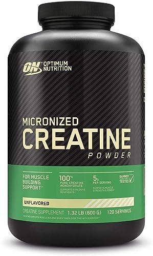Optimum Nutrition Creatine Powder, Unflavored, 600g