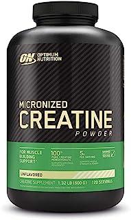 Optimum Nutrition Micronized Creatine Monohydrate Powder, Unflavored, Keto Friendly, 120..