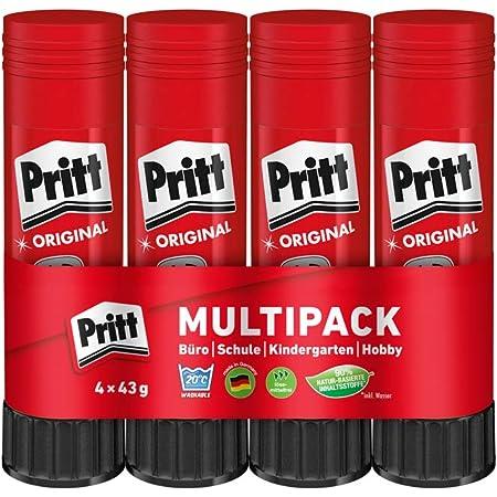 Pritt PK8MP - Colla stick, 4 x 43 g, 4 Pezzi
