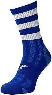 ND Sports, Calcetines deportivos de precisión Junior Mid Pro con aro real/blanco J12-2