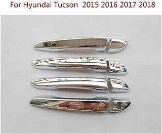 decorazione per maniglia della porta Adesivo per maniglia della porta Tucson con paillettes in acciaio inox 2015-2019