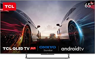 TCL 65 Inch QLED Android AI Smart UHD TV - 65C728