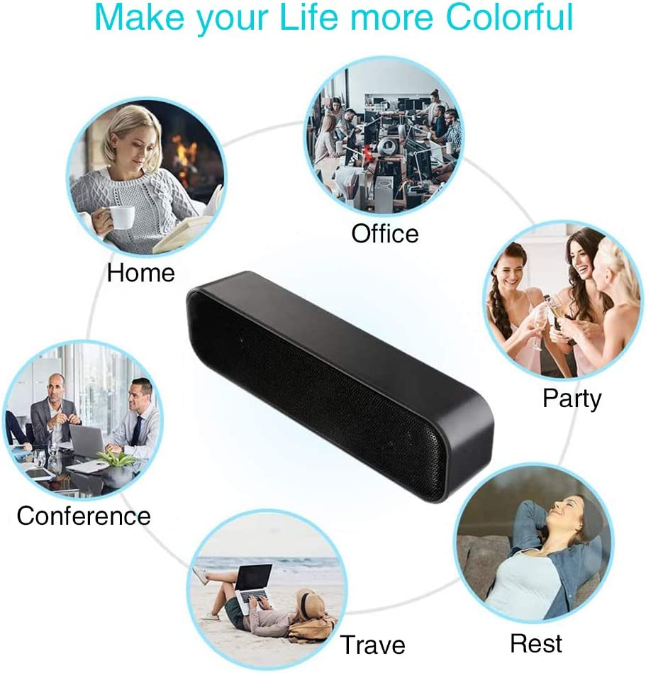 Plug and Play Stereo Multimedia Lautsprecher f/ür PC Computer KKshop SoundBar Mini USB Lautsprecher Tablet Notebook Computer Lautsprecher Laptop