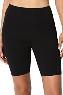 Lili Women's Bio-Wash Knee Length Fitness Workout Running Yoga Shorts