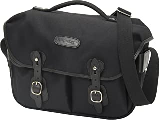 Billingham Hadley Pro Fibrenyte Camera Bag with Black Leather Trim - Black