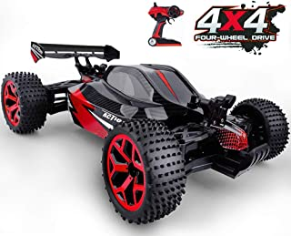 Gizmovize Remote Control Car,4WD RC Car 2.4Ghz High Speed Racing Toy Cars, Electronic Off Road Drift Car Racing Toy Vehicle Remote Controlled Cars for Kids & Adults