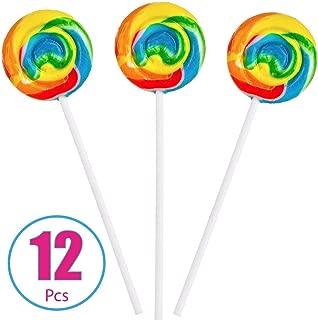 personalized swirl lollipops