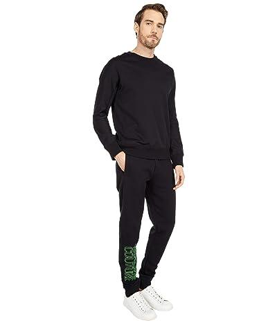 Versace Jeans Couture Neon Logo Sweatpants (Black) Men