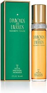 Elizabeth Taylor Diamonds and Emeralds Eau de Toilette Spray for Women, 50ml