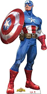Cardboard People Captain America Life Size Cardboard Cutout Standup - Marvel: Contest of Champions