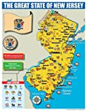 Gallopade Publishing Group New Jersey State Map for Students - Pack of 30 (9780635106575)