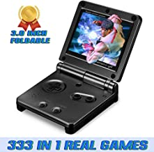 Ruihoxin Handheld Game Console, 333 Classic Games 3.0 inch HD LCD Screen Portable Video Game, Retro Game Console can be Played on TV, Best Gift for Children and Adults, Gifts. (Black)