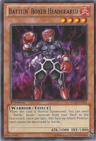 YU-GI-OH! - Battlin39; Boxer Headgeared (LTGY-EN016) - Lord of The Tachyon Galaxy - Unlimited Edition - Common