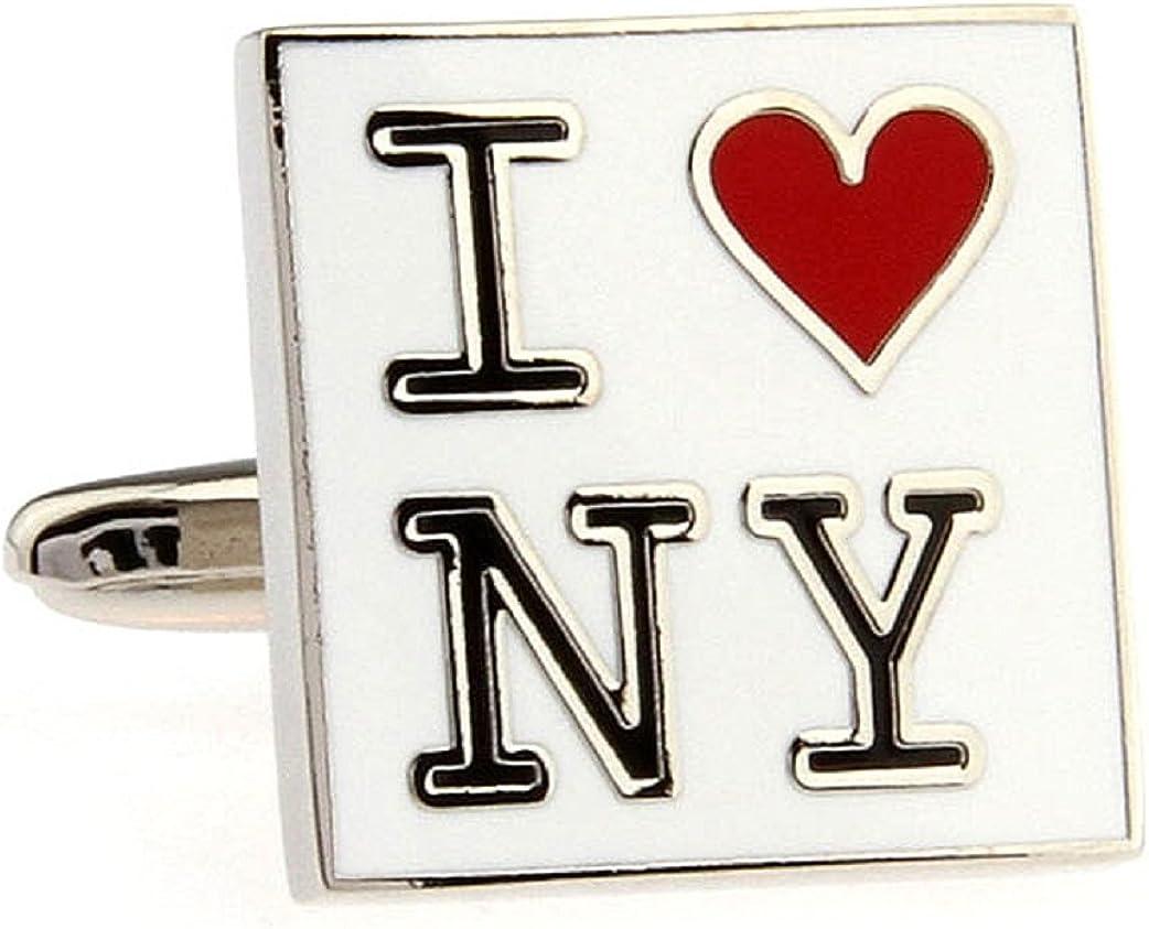 Max 83% OFF MRCUFF Presentation Gift Box I Love NY Pair Cuffl York Heart Regular dealer New