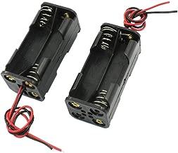 BOITIER COUPLEUR 2 PILES 1,2v 1,5v AA LR6 LR06 sans interrupteur 2,4v ou 3v