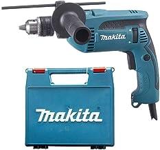 Makita Percussion Drill 680 Watts, Black And Blue [hp1640k]