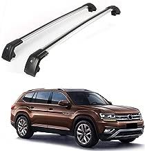 MotorFansClub Crossbar Cross Bars for Volkswagen Atlas 2018-2019 Luggage Rack Top Roof Rack Cargo Rack