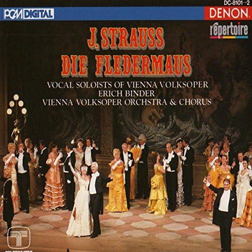 エーリッヒ・ビンダー, ヨハン・シュトラウス2世 & Vienna Volksoper Orchestra
