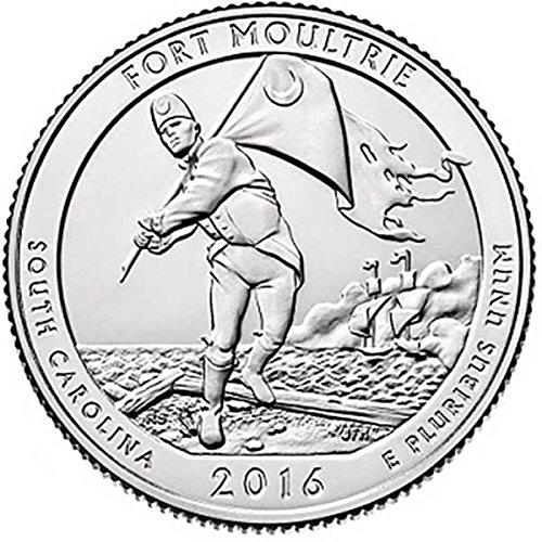 2016 D Bankroll of 40 – Fort Moultrie, SC National Park Quarter Uncirculated