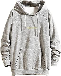 FEDULK Mens Novelty Hooded Sweatshirt 3D Digital Print Long Sleeve Pullover Hoodie Coat Tunic with Pockets