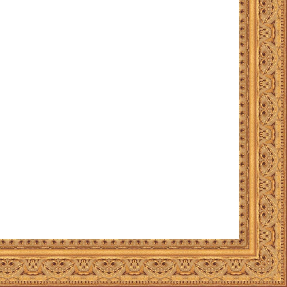 15x19 - 15 x High order 19 Antique Gold New item Solid A Frame UV Framer's Wood with