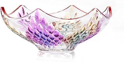 XINHU Glazen Fruit Kom Woonkamer Salontafel Heldere Kleur Amerikaanse Creatieve Thuis Moderne Minimalistische