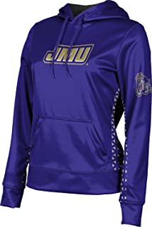 James Madison University Foundation Women's Pullover Hoodie, School Spirit Sweatshirt (Geo)