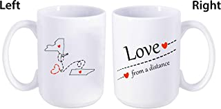 Best long distance coffee mugs with states Reviews