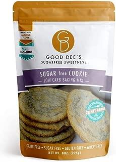 Good Dee's Sugar Free Cookie Mix - Low Carb, Keto Friendly, Diabetic Friendly, Sugar Free, Gluten Free