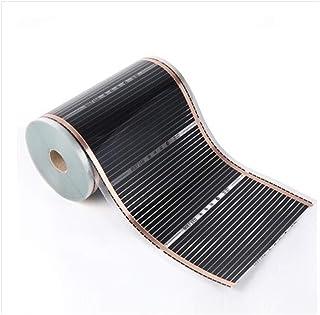 SANKUAI 1pc 220V 50cm Width Healthy Floor Heating Infrared Underfloor Heating Carbon Film Heater Electric Floor Warming Ma...