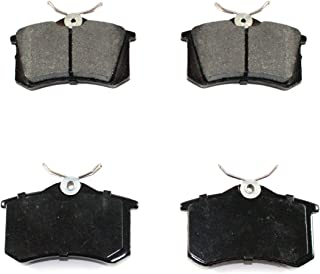 DuraGo BP340 MS Rear Semi-Metallic Brake Pad