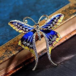 Best diamond butterfly brooch Reviews
