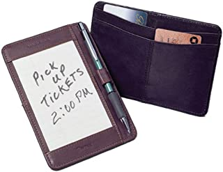 Cowhide Leather Pocket Brief for Note Cards