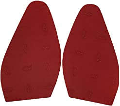 Red Rubber Replacement Soles for Christian Louboutin Shoes Only