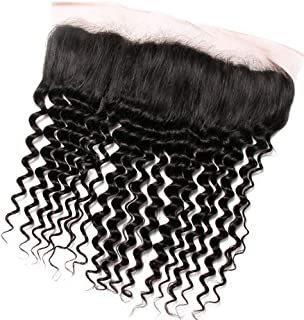 Black Long Lace Wig Black Natural Wave Wig Heat-Resistant Synthetic Wig,Hairpieces (Color : Black, Size : 16inch)