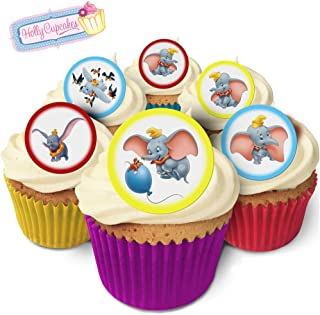 24 Fabulous Pre-Cut Edible Wafer Cake Toppers: Dumbo