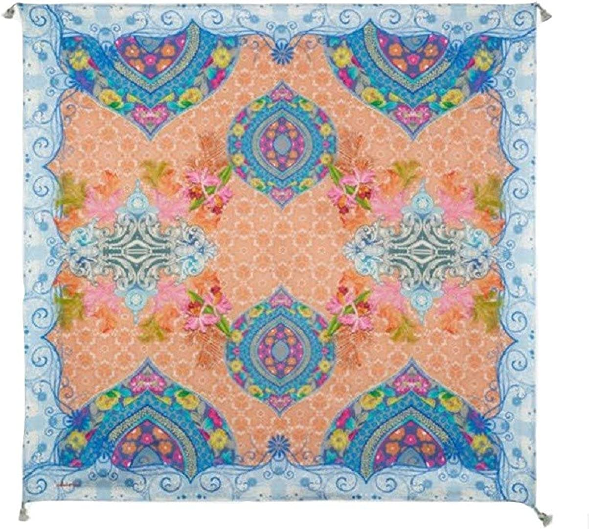 Johnny Was Floral Tech Scarf - C92819-5