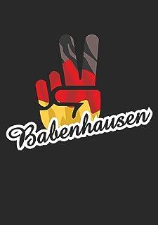 Indigos UG Sticker, autostickers, Duitsland, stad babenhuis, Victory, overwinning, achterruit, kofferbak, laptop, voetbal,...