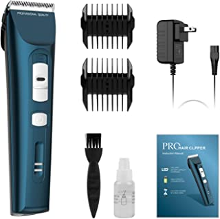 Uiter Clippers for Hair Cutting - 5 Hour Long Life Battery, Complete Hair Cutting Kit for Men, Women, Children, Includes Length Guide Combs and Fast Charging Adapter