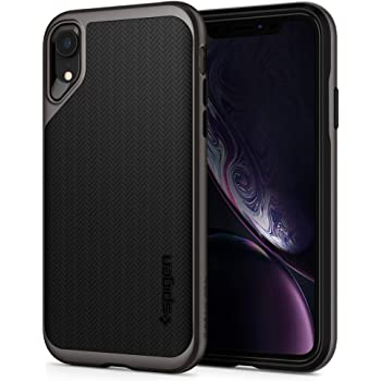 Spigen Neo Hybrid Designed for iPhone XR Case (2018) - Gunmetal