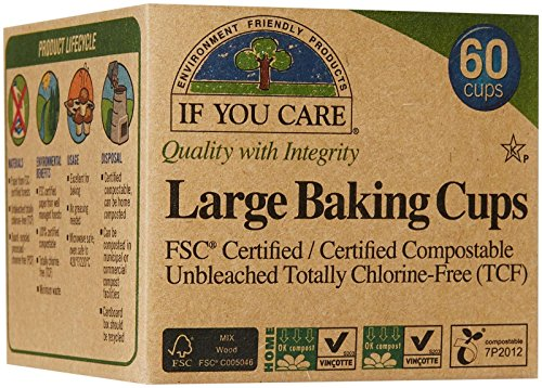 If You Care Large Baking Cups - FSC Certified, 60 ct