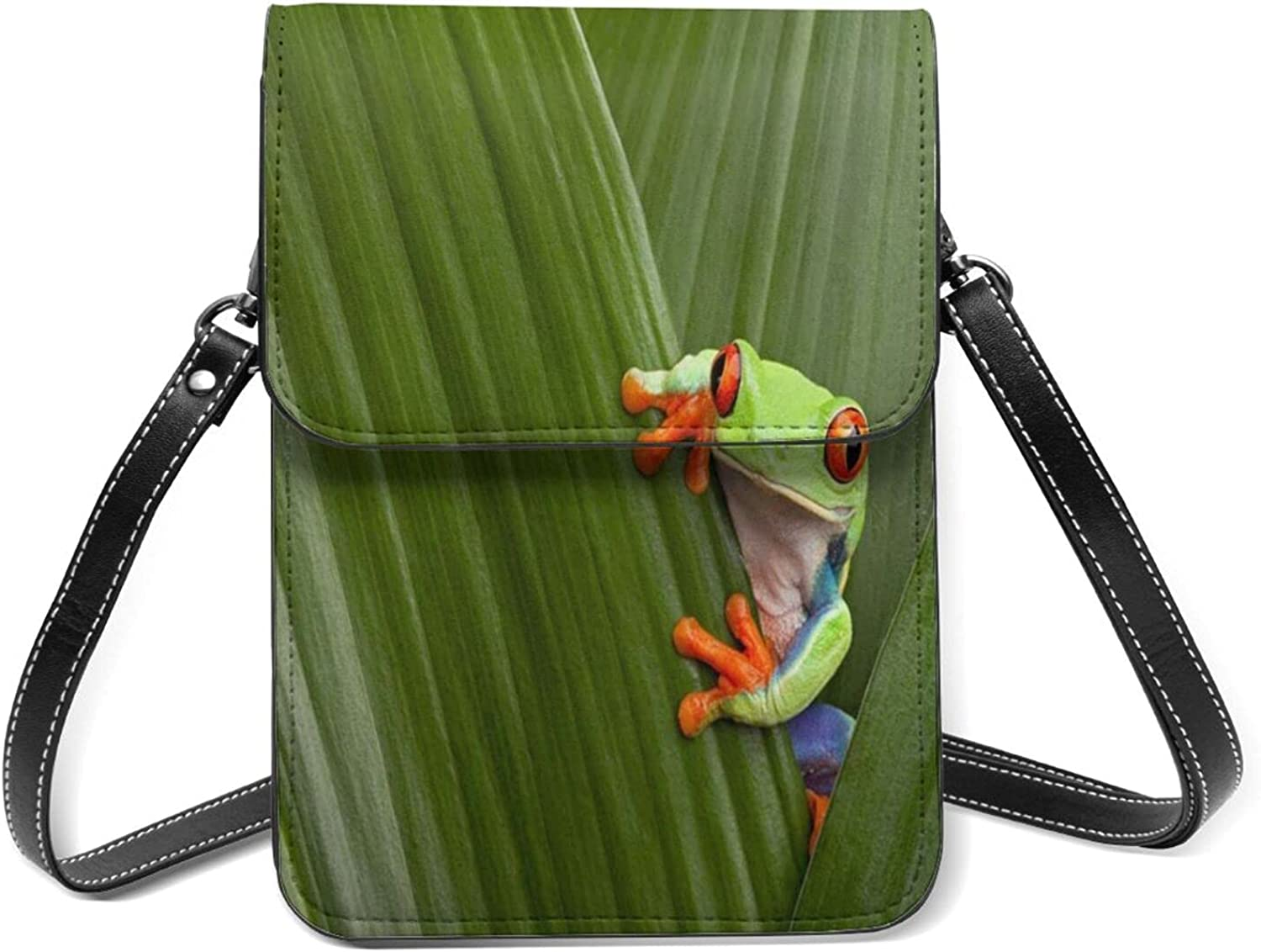Red Eyed Tree Frog Animal Small SEAL limited product Purse Flip Cell Light Challenge the lowest price of Japan ☆ Phone