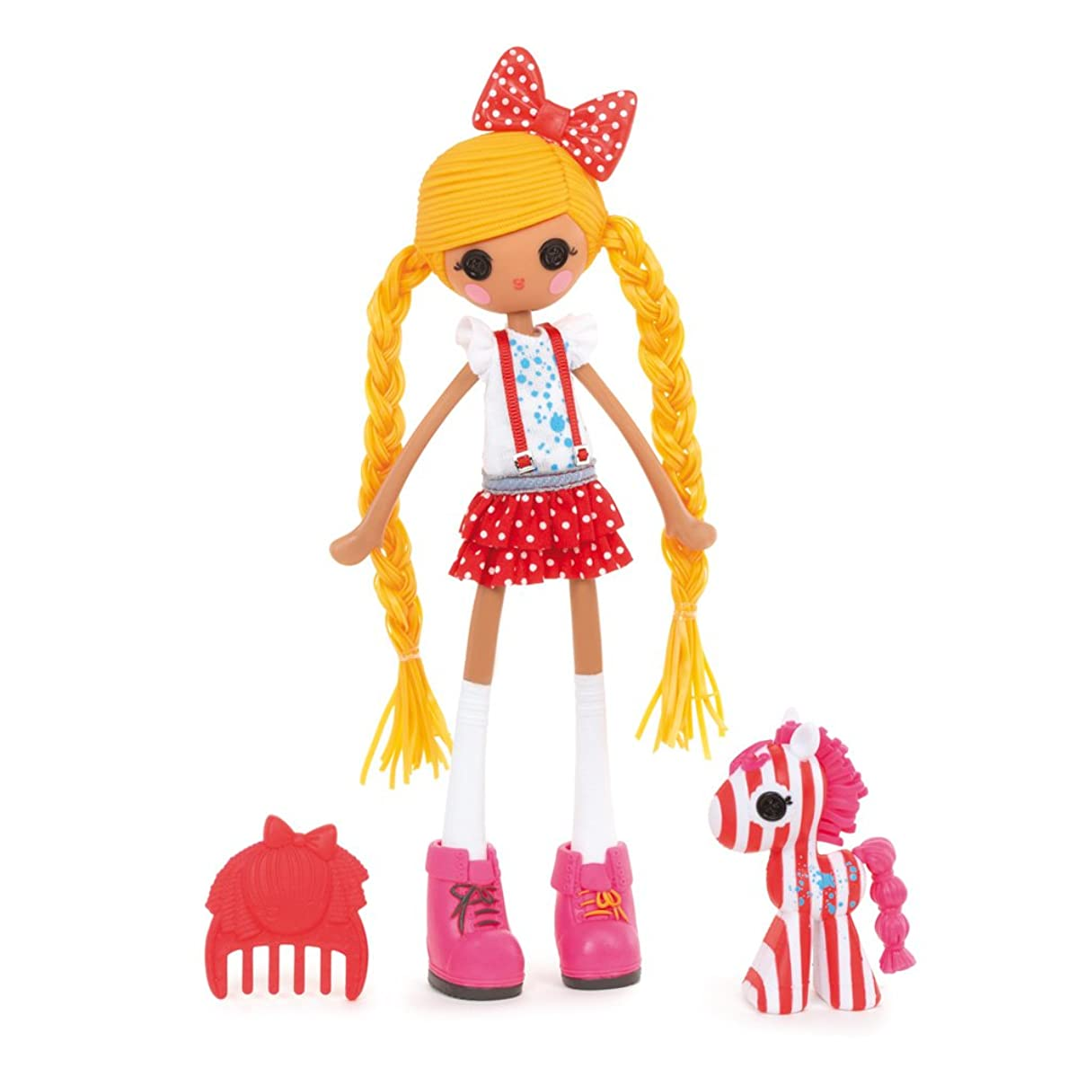 バージンフィードオントレーダーLalaloopsy Girls Spot Splatter Splash Doll