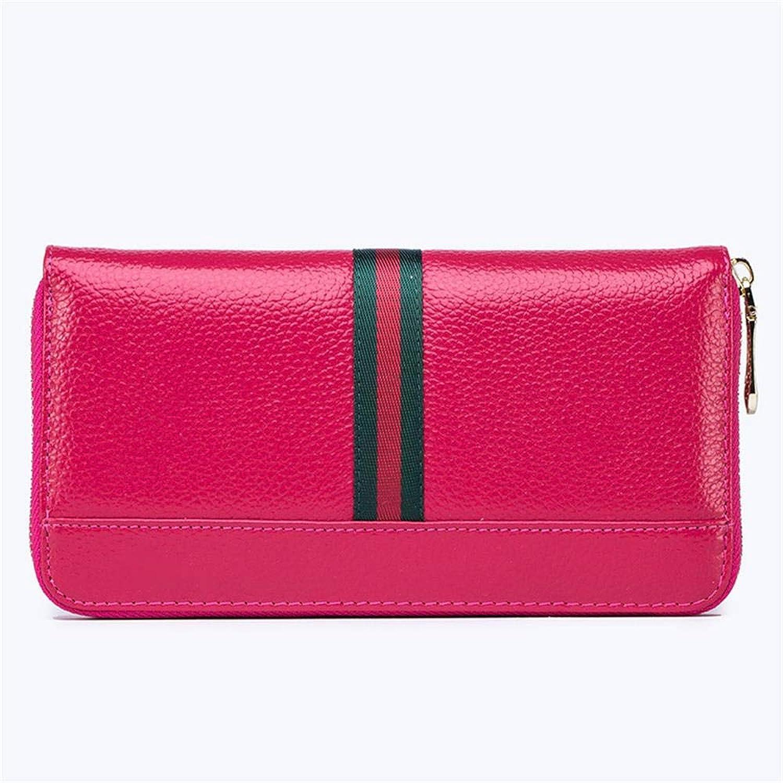 WeoHau Fashion Ladies Pu Long Wallet MultiFunction Casual Clutch Bag Purse,pink