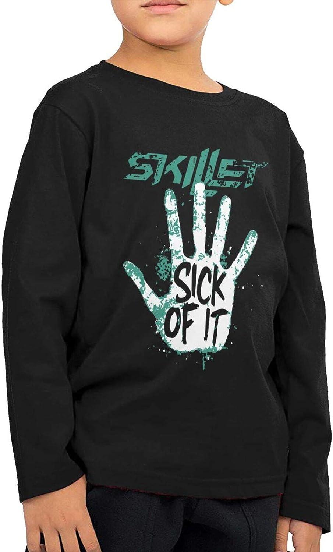 Skillet Band Child BoyS GirlS Long Sleeve T Shirt Sports Shirts