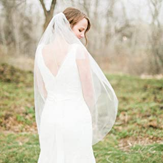 wedding head veil